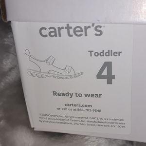 Carter sandals size 4